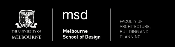 Melbourne School of Design, Faculty of Architecture Building and Planning, The University of Melbourne